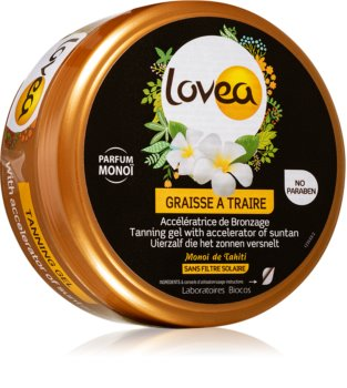 Lovea Tanning Gel Monoi Gel-Creme für intensive Bräunung