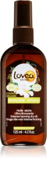 Lovea Nature huile sèche pour un bronzage intense