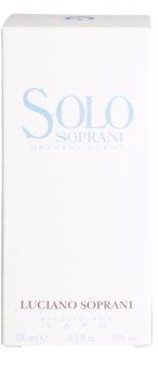 Luciano Soprani Solo eau de toilette mixte 100 ml
