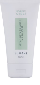 Lumene Nordic Girl! Scrub Me Up! Exfoliating Cleansing Gel For Skin With Imperfections