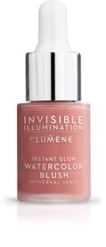 Lumene Invisible Illumination róż w płynie rozjaśniający