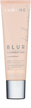 Lumene Nordic Chic Blur maquilhagem de longa duração para todos os tipos de pele SPF 15