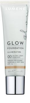 Lumene Nordic Chic Glow Make-up Base  met Hydraterende Werking