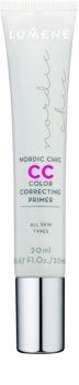 Lumene Nordic Chic CC podkladová báze pro rozjasnění a sjednocení pleti