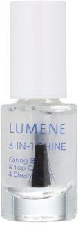 Lumene Gloss & Care podkladový a vrchní lak na nehty 3 v 1