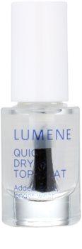 Lumene Gloss & Care Snel Drogende Top Coat  voor Nagels