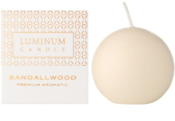 Luminum Candle Premium Aromatic Sandalwood świeczka zapachowa     (Ø 60 mm, 15 h)