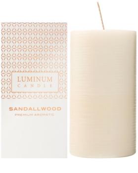 Luminum Candle Premium Aromatic Sandalwood vonná sviečka   veľká (Ø 70 - 130 mm, 65 h)