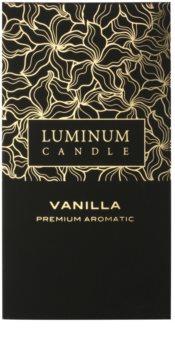 Luminum Candle Premium Aromatic Vanilla lumanari parfumate    mare (⌀ 70 –130 mm, 65 h)