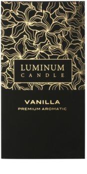 Luminum Candle Premium Aromatic Vanilla vonná sviečka   veľká (⌀ 70 –130 mm, 65 h)