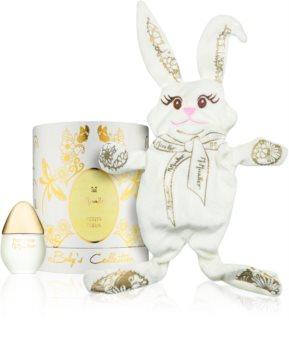 M. Micallef Baby's Collection Petite Fleur parfumovaná voda pre deti 30 ml + hračka