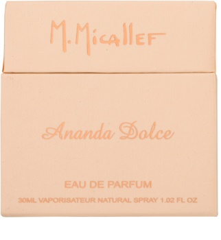 M. Micallef Ananda Dolce Eau de Parfum for Women 30 ml