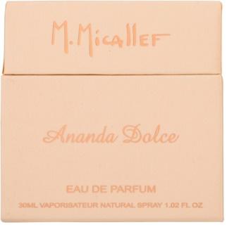 M. Micallef Ananda Dolce Eau de Parfum for Women 30 ml