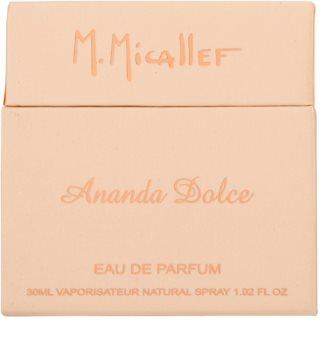 M. Micallef Ananda Dolce parfémovaná voda pro ženy 30 ml