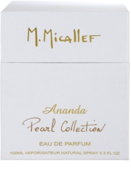 M. Micallef Ananda Pearl Collection eau de parfum pentru femei 100 ml