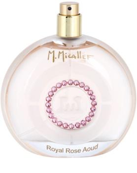 M. Micallef Royal Rose Aoud Parfumovaná voda tester pre ženy 100 ml