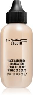 MAC Studio легкий тональний крем для обличчя та тіла