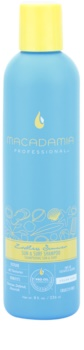 Macadamia Natural Oil Endless Summer champô para cabelo danificado pelas ações do sol, cloro e sal