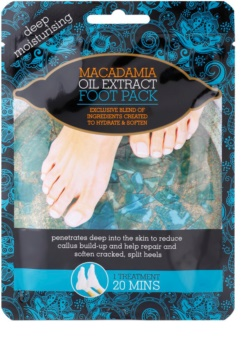 Macadamia Oil Extract Pack skarpetki nawilżające