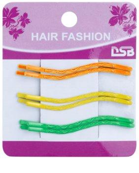 Magnum Hair Fashion barevné pinety do vlasů ve tvaru vlnky