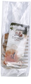 Magnum Natural pettine in legno di guaiaco - stile afro