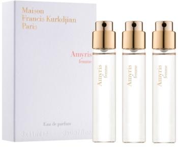 Maison Francis Kurkdjian Amyris Femme parfémovaná voda pro ženy 3 x 11 ml náplň