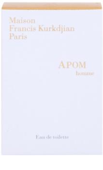 Maison Francis Kurkdjian APOM pour Homme Eau de Toilette para homens 3 x 11 ml recarga