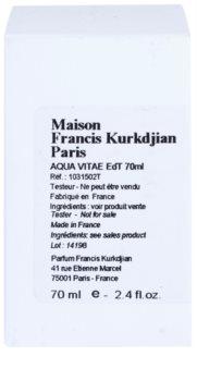Maison Francis Kurkdjian Aqua Vitae woda toaletowa tester unisex 70 ml