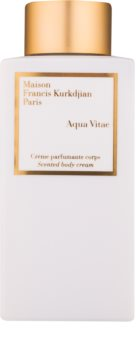 Maison Francis Kurkdjian Aqua Vitae creme corporal unissexo 250 ml