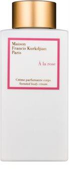 Maison Francis Kurkdjian A la Rose crème corps pour femme 250 ml