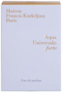 Maison Francis Kurkdjian Aqua Universalis Forte eau de parfum unisex 3 x 11 ml töltelék