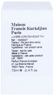 Maison Francis Kurkdjian Lumiere Noire Femme parfémovaná voda tester pro ženy 70 ml