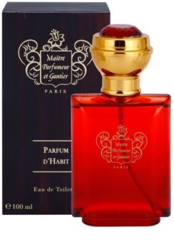 Maitre Parfumeur et Gantier Parfum d´Habit toaletní voda pro muže 100 ml