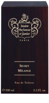 Maitre Parfumeur et Gantier Secret Mélange eau de toilette férfiaknak 100 ml