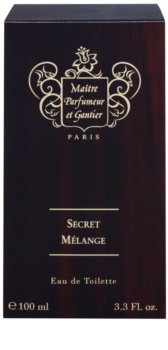 Maitre Parfumeur et Gantier Secret Mélange Eau de Toilette for Men 100 ml