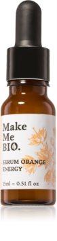 Make Me BIO Orange Energy posvetlitveni serum za obraz z vlažilnim učinkom