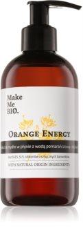 Make Me BIO Orange Energy vyživujúce tekuté mydlo s pumpičkou