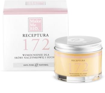 Make Me BIO Receptura 172 Stärkende Creme für trockene Haut mit Neigung zur Rötung