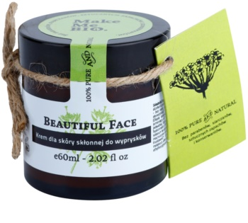 Make Me BIO Face Care Beautiful Face Light Day Cream For Skin With Imperfections