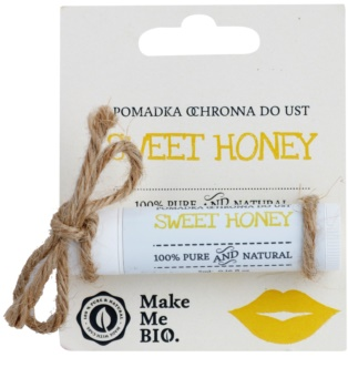 Make Me BIO Lip Care Sweet Honey schützendes Lippenbalsam