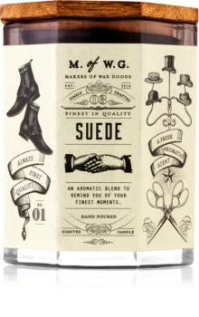 Makers of Wax Goods Suede candela profumata 102,34 g