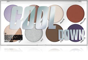 Makeup Obsession Cool Down palette de fards à paupières