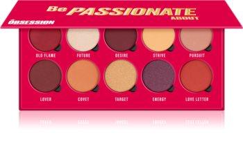 Makeup Obsession Be Passionate About paleta de sombras de ojos