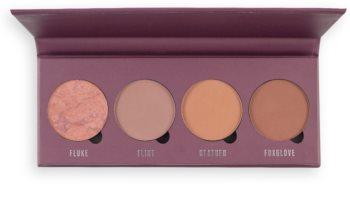 Makeup Obsession Mad About Mauve paleta de coloretes
