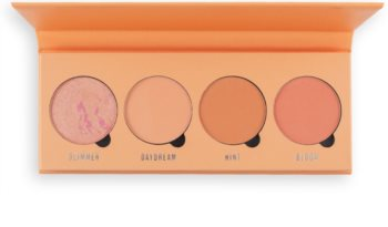 Makeup Obsession Isn't It Peachy palette de blush