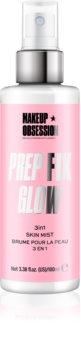 Makeup Obsession Prep Fix Glow rozjasňující fixační sprej