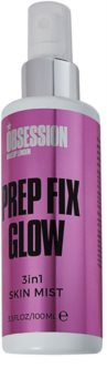 Makeup Obsession Prep Fix Glow Brightening Setting Spray