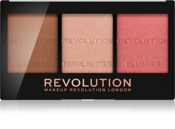 Makeup Revolution Ultra Sculpt & Contour paleta na kontúry tváre