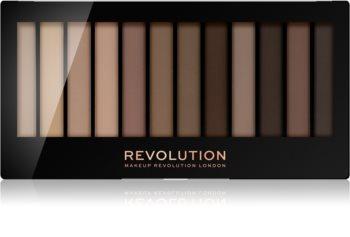 Makeup Revolution Essential Mattes 2 paleta sjenila za oči