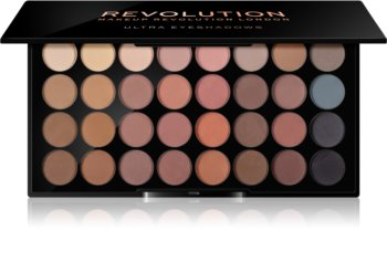 Makeup Revolution Flawless Matte paleta cieni do powiek